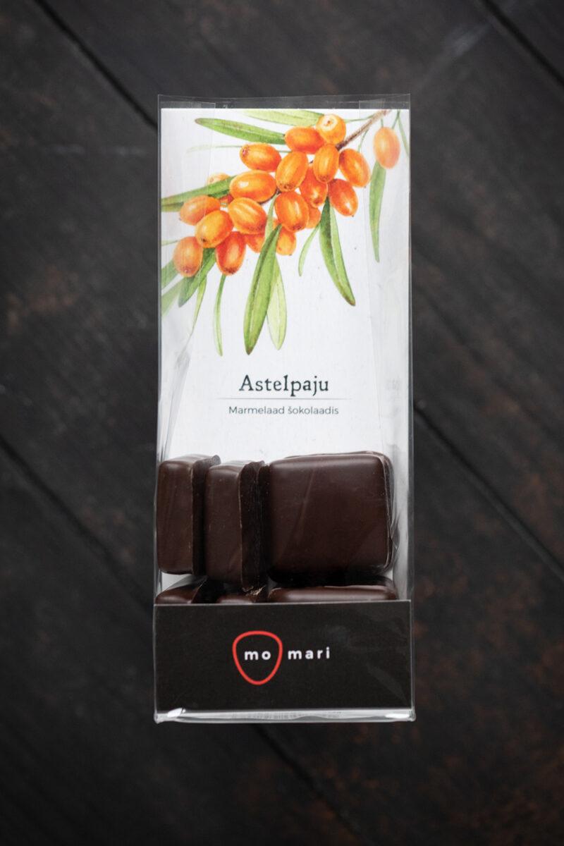astelpajumarmelaad šokolaadis