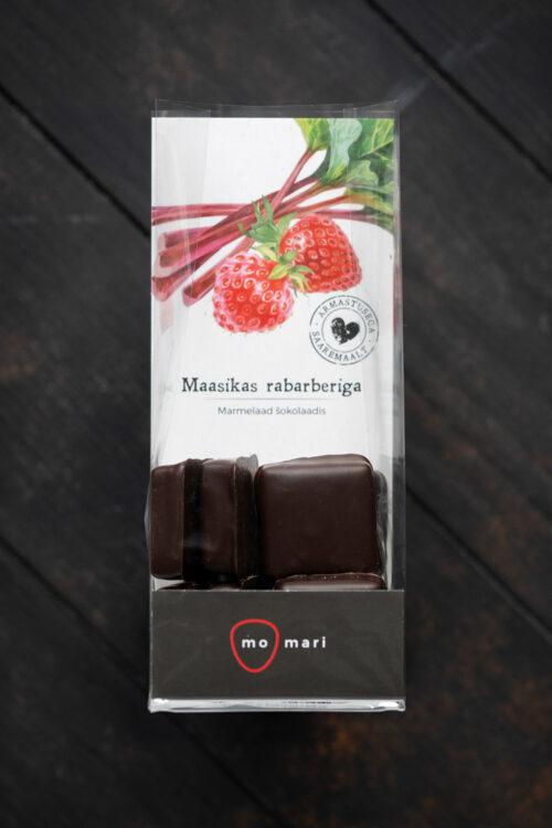 maasikamarmelaad šokolaadis