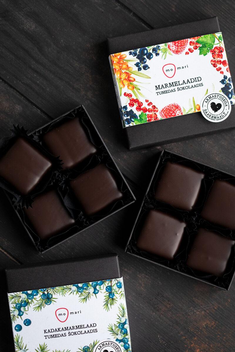 marmelaad šokolaadis