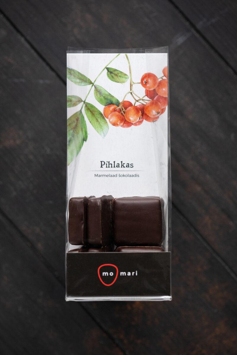 pihlakamarmelaad šokolaadis