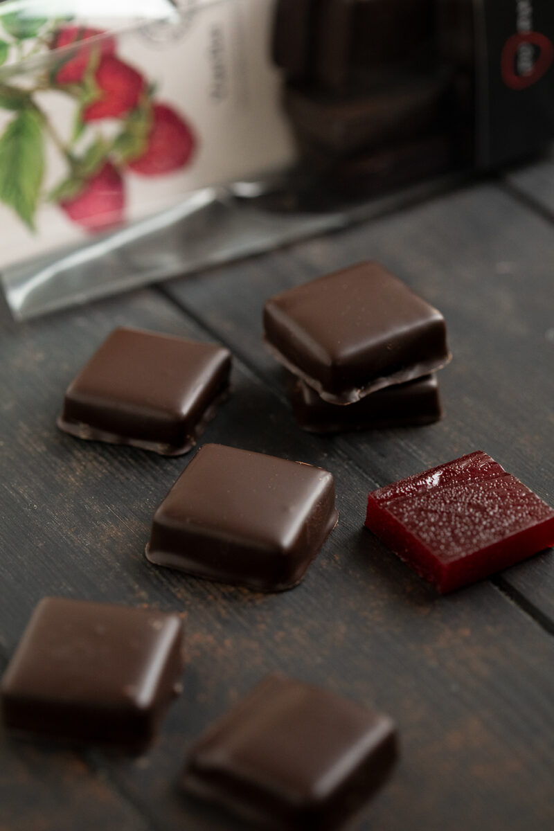vaarikamarmelaad šokolaadis